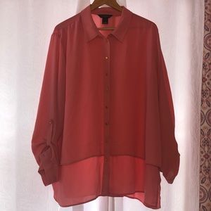🍑Investments II GUC Women's Blouse size 3X